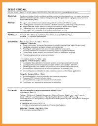11 Computer Technician Resume Resume Pdf