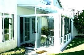 outdoor enclosed patio kitchen