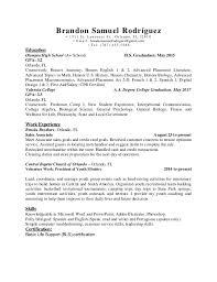 BRANDON RODRIGUEZ (Calibri Font)- RESUME. Brandon Samuel Rodrguez  1511 S  t. Lawre nce St ., Or la ndo