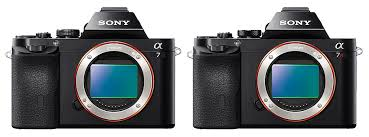 Sony Alpha Comparison Chart Sony A7 Vs A7r Key Differences