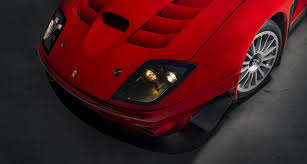 The aerodynamics were completely revised with the addition of a new splitter and air intake on the. It Was Never Built But Now There Is A Ferrari 575 Gtc Stradale Classic Driver Magazine