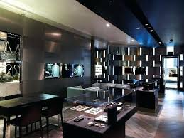 jewelry store showcase designs classy jewelry store interior