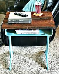 Wooden school desk and chair Student Desk Side Table Old School Desk With Chair Attached Old School Desk Chairs Vintage School Desk End Side Table Desk With Pull Out Side Table Seville Classics Antiquesnavigator Desk Side Table Old School Desk With Chair Attached Old School Desk