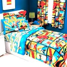 superhero comforter twin marvel comforter set bedding boys superheroes inspired sheets superhero toddler sets avengers assemble