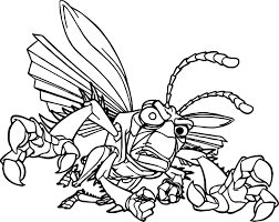 Small Picture Coloring Pages Animals A Bugs Life Danger Bug Coloring Page