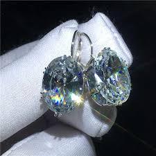 <b>Luxury Female</b> Cross ring 925 Sterling silver AAAAA <b>Cz Stone</b> Big ...