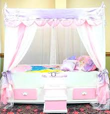 Little Girl Canopy Beds Canopy Beds For Toddlers Little Girl ...
