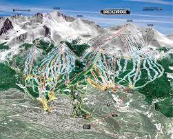 breckenridge ski resort ski trail map  breckenridge colorado