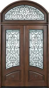 double front door. Elegant Mahogany And Glass Arch Double Front Door Home Design Photo 3 Inspirations Modern Designs For Houses