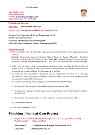 sample resume for document controller document control resume examples  linkedin template samples visualcv database controller -