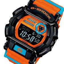 pochitto rakuten global market watches mens casio casio g shock watches mens casio casio g shock dusty neon series gd 400dn 4 orange