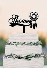Dream Catcher Baby Shower Cake Amazon Dream catcher cake topper baby shower dream catcher 80