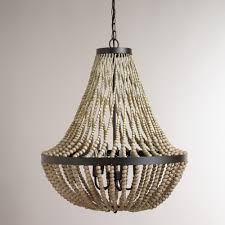full size of living decorative chandelier 23 interior amusing white wood bead with large