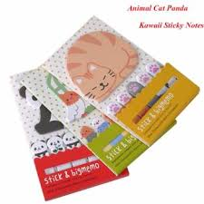 4pcs Set Vintage Retro Travel Passport Stamps Memo Pad Sticky Note
