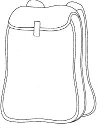 Small Picture School Backpack Coloring Page craft ideas Pinterest School