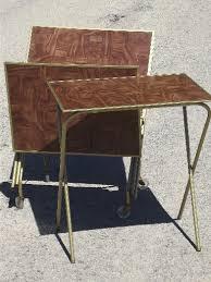 Decorative Tv Tray Tables Folding Tv Tray Table Facil Furniture 14