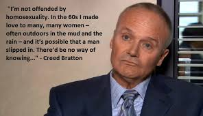 Creed Quotes Interesting Creed Bratton On Homosexuality Atheism