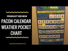 Pacon Calendar Weather Pocket Chart Product Review Pocket Chart