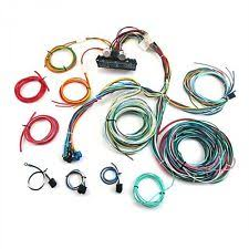 12 circuit wiring harness ebay Harness Wiring Kit For Hord 12v 24 circuit 15 fuse street hot rat rod wiring harness wire kit complete Hot Rod Wiring Harness Kits