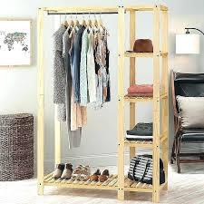 clothing storage ideas no closet clothing storage