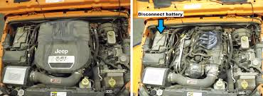 jeep wrangler jk 2007 to 2015 how to replace spark plugs jk forum engine cover removal