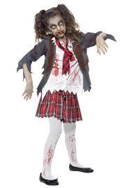 Great Kids Zombie School Girl Costume