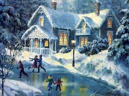 Christmas Winter Scenes Wallpapers ...