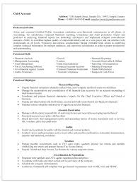 Resume Objective For Government Job Resume Profile Examples Non