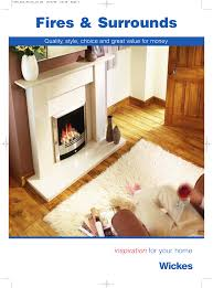Wickes Fire And Fire Surrounds Brochure Manualzz Com
