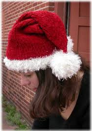 Santa Hat Pattern Adorable Free Knitting Pattern For Santa Hat For Children And Adults