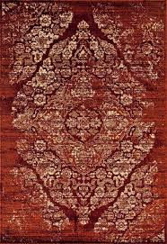 rugs area rugs 8x10 area rug carpet large floor fl red faded distressed rugs