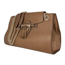 gucci bags india. gucci brown large emily bag bags india
