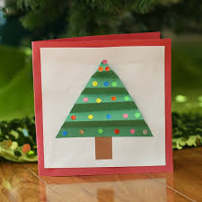 A Christmas Card With Wood And 2 More DIY Ideas  Heath RefinishingChristmas Card Craft For Children