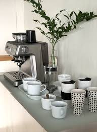 This is an awesome party idea for summer entertaining, brunch parties, showers, or afternoon gatherings. Coffee Trends Home Coffee Stations Canadel S Blog