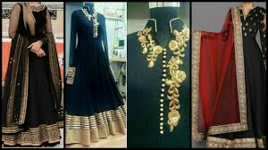 Black Frock Design 2018 Latest New And Stylish 40 Black Colour Party Wear Long Frocks Designs 2018 19