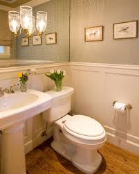 Elegant Powder bath traditional-powder-room