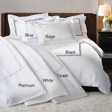 hotel collection 300 thread count sateen 3 piece duvet cover set