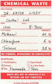 Chemical Waste Disposal Environmental Health