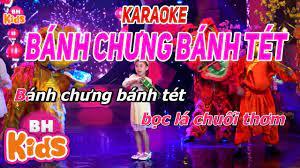 KARAOKE Bánh Chưng Bánh Tét - Nhạc Karaoke Tết Thiếu Nhi - YouTube