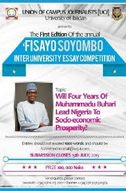 fisayo soyombo inter university essay competition