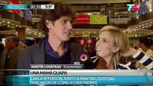 VIDEO] Carla Peterson y Martin Lousteau fueron a ver