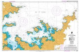 Visual Navigation Chart Nz Nz 5125 Hydrographic Marine Chart Bay Of Islands Smart