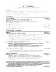 Resume After College Drupaldance Com