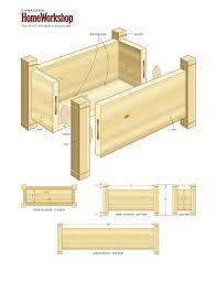 Cedar Planter Box Plans Design Home Furniture Ideas