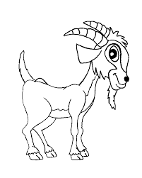 Small Picture Farm animal coloring pages goat ColoringStar