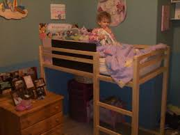 Diy Toddler Loft Bed Ana White Toddler Size Loft Bed Diy Projects