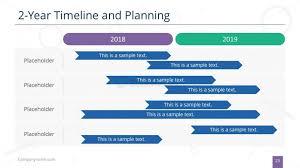 Gantt Chart Year Planner Timeline And Planning Gantt Chart Ppt Slidemodel
