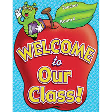 Welcome Chart Images Chart Welcome To Our Class Poster