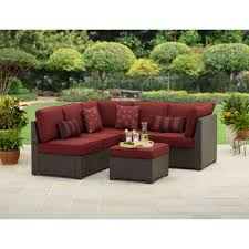 home and garden patio furniture cushions better homes and gardens rush valley 3 piece outdoor