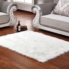 white faux sheepskin rug com faux sheepskin area rug silky white for modern 7